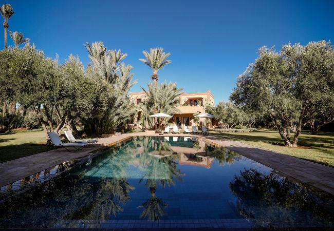 Villa/Dettached house in Marrakech Palmeraie - MAZITA